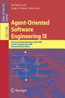 Agent Oriented Software Engineering IX