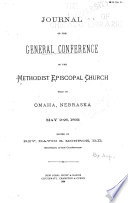 Journal of the General Conference of the Methodist Episcopal Church ...
