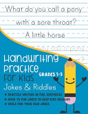 Handwriting Practice for Kids Grade 1 3 Jokes and Riddles