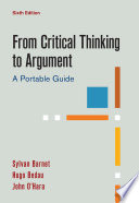 From Critical Thinking to Argument
