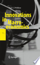 Innovations in Macroeconomics Book