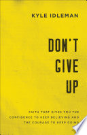 Don T Give Up Book
