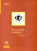 La Inversión Extranjera en América Latina y el Caribe 2006