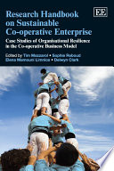 Research Handbook on Sustainable Co operative Enterprise