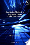 Qualitative Methods in Migration Studies  : A Critical Realist Perspective