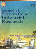 Journal of Scientific   Industrial Research Book