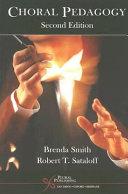 Choral Pedagogy Book