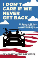 I Don't Care if We Never Get Back Pdf/ePub eBook