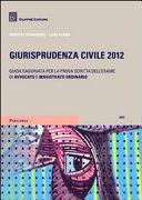 Giurisprudenza civile 2012. Guida ragionata per la prova scritta dell'esame di avvocato e magistrato ordinario