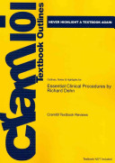Outlines and Highlights for Essential Clinical Procedures by Richard Dehn  Isbn