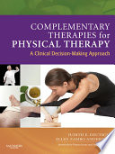 Complementary Therapies For Physical Therapy E Book