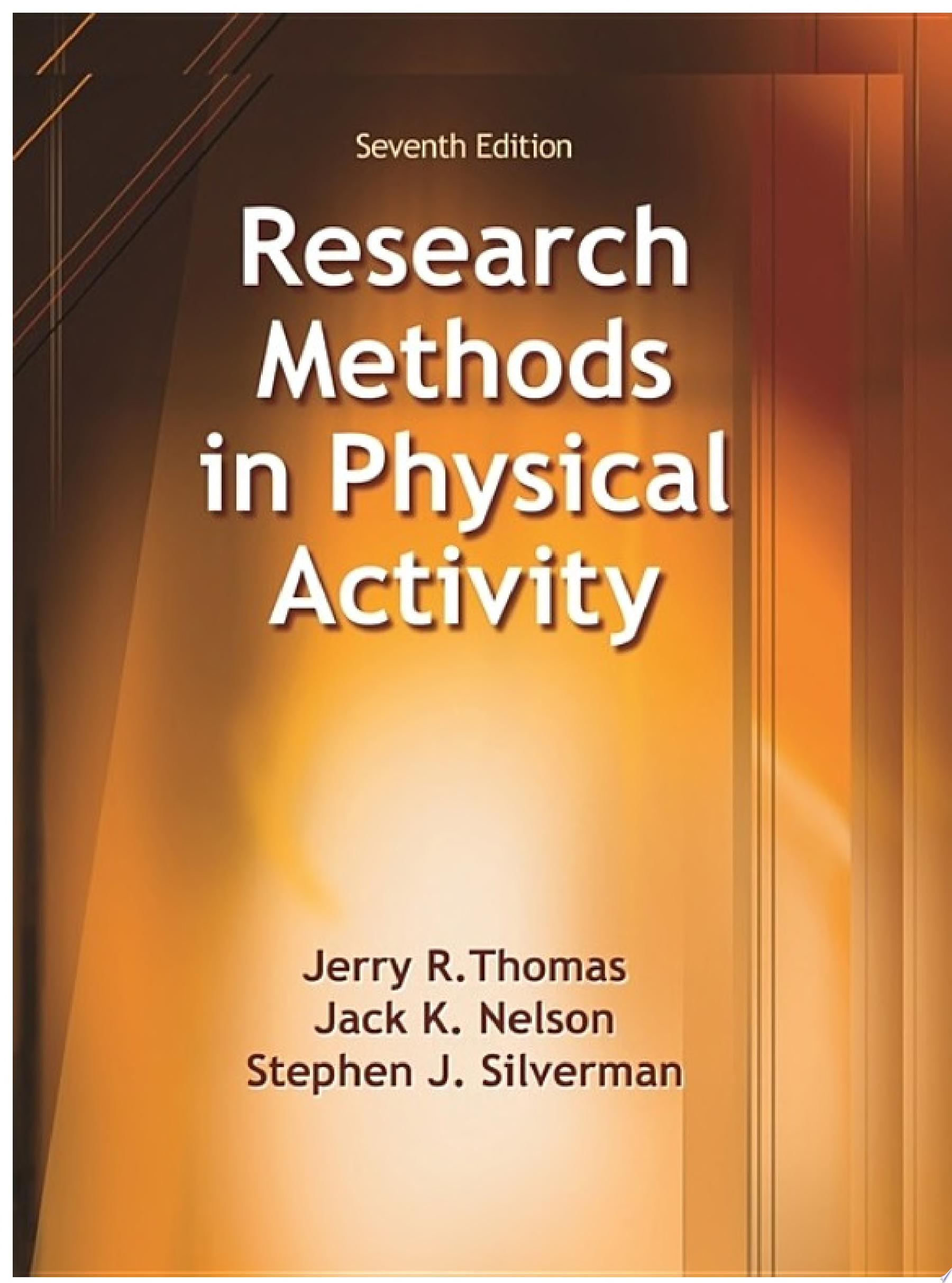 Research Methods in Physical Activity 7th Edition