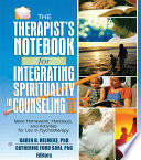 The Therapist s Notebook for Integrating Spirituality in Counseling II