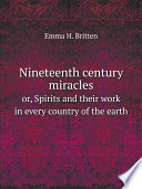 Nineteenth century miracles Pdf/ePub eBook