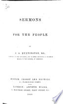 Sermons for the People Book