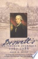 Boswell s Edinburgh Journals
