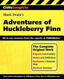 CliffsComplete The Adventures of Huckleberry Finn