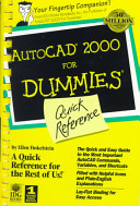 AutoCAD 2000 for Dummies Quick Reference