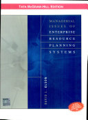 Managerial issues of enterprise resource planning systems