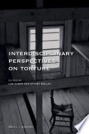 Interdisciplinary Perspectives on Torture