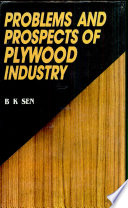 Problems and Prospects of Plywood Industry Book