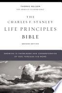 Nasb Charles F Stanley Life Principles Bible 2nd Edition Ebook