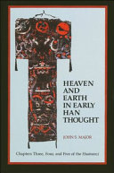 Heaven and Earth in Early Han Thought