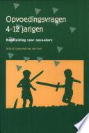 Opvoedingsvragen 4 12 Jarigen