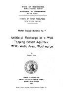 Water Supply Bulletin