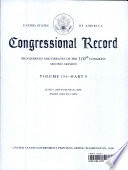 United States Of America Congressional Record Proceedings And Debates Of The 110th Congress Second Session Volume 154 Part 9