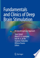 Fundamentals and Clinics of Deep Brain Stimulation Book