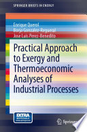 Practical Approach to Exergy and Thermoeconomic Analyses of Industrial Processes Book