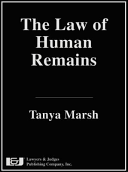 The Law of Human Remains