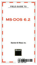 Field Guide to MS-DOS 6.2