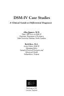 DSM IV Case Studies