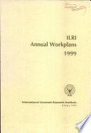 ILRI Annual Workplans 1999
