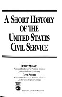 A Short History Of The United States Civil Service