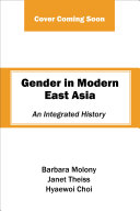 Gender in Modern East Asia