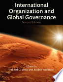 Cover of International Organization and Global Governance