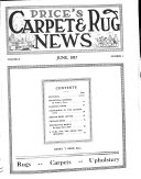 Price s Carpet and Rug News Book
