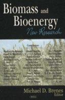 Biomass and Bioenergy Book
