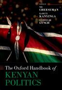 The Oxford Handbook of Kenyan Politics