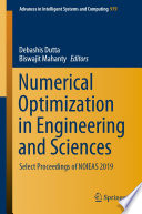 Numerical Optimization in Engineering and Sciences