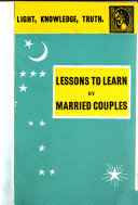 Lessons To Learn By Married Couples