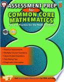 Assessment Prep for Common Core Mathematics  Grade 8