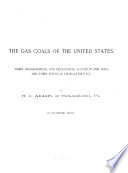 The Gas Coals of the United States Book PDF