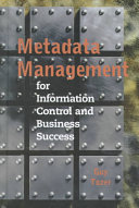 Metadata Management For Information Control And Business Success Book PDF