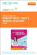 Today's Medical Assistant Pageburst Acces Code