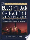 Rules Of Thumb For Chemical Engineers Book PDF