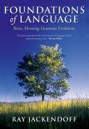 Foundations of Language
